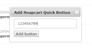 adding buttons serial number