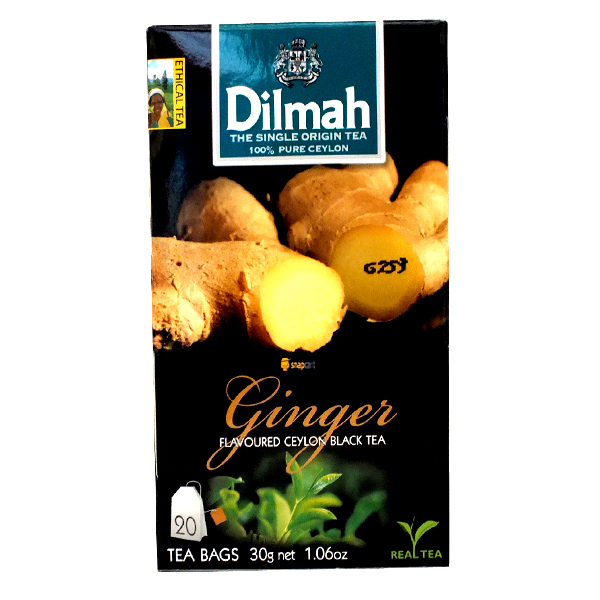 DILMAH GINGER TEA 20 bags (37.5g)